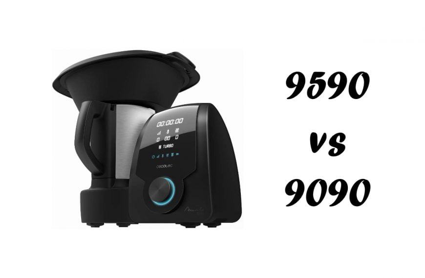 Mambo 9590 vs 9090: Diferencias entre los dos robots de cocina de Cecotec